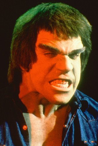 Lou Ferrigno In Denim Shirt Looking Angry The Incredible Hulk 24X36 Poster