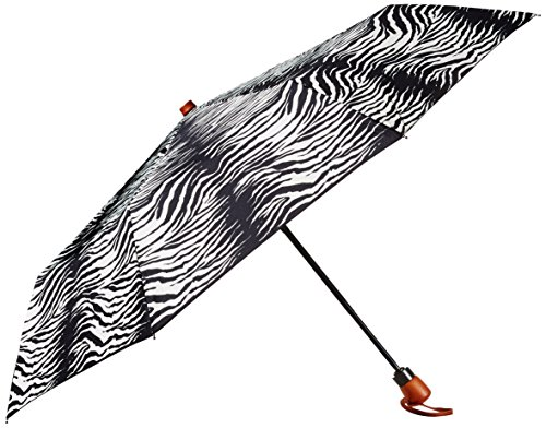 adrienne-landau-auto-open-close-compact-with-wood-handle-zebra-one-size