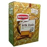 NEW Britannia Milk Rusks Light, Crisp & Delicious Toast 620 Grams by Britannia