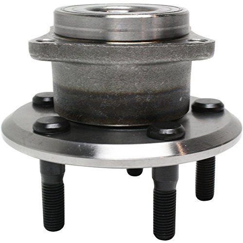 Wheel Hub and Bearing Compatible with 2003-06 Toyota Matrix Pontiac Vibe Rear Left or Right AWD 4-Wheel ABS ()
