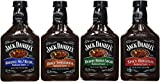 Jack Daniel's Barbecue Sauce Combo (Pack of 4 assorted flavors)