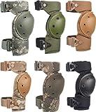ALTA 52913.18 AltaCONTOUR Knee Protector Pad, A-TACS AU Cordura Nylon Fabric, Flexible Cap, AltaLOK Fastening, Round, A-TACS AU