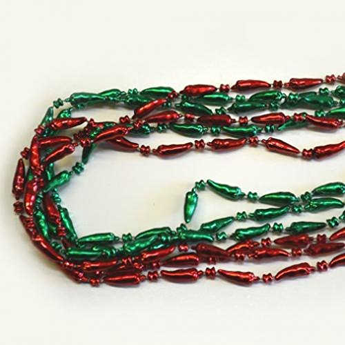 Chili Pepper Bead Necklaces