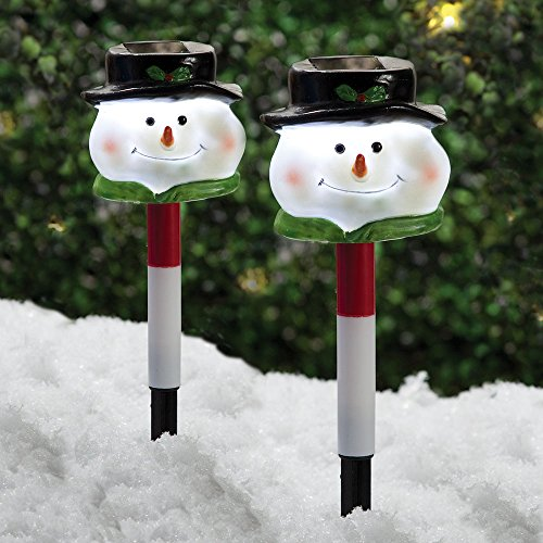 Snowman Pathway Lights in US - 4