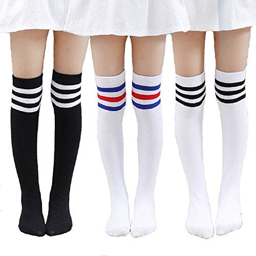 Stripe Long Socks - 8