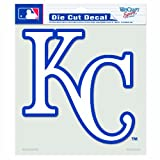 kc royals car window decal - MLB Kansas City Royals 8-by-8 Inch Diecut Colored Decal