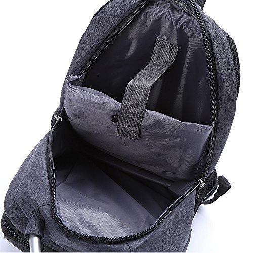 Donna Sottile Borsa Scuola Viaggio C Escursioni Portatile Affari d Daypacks Zaino Da Nclon Impermeabile Leggero Uomo Resistente ywYzFFfq
