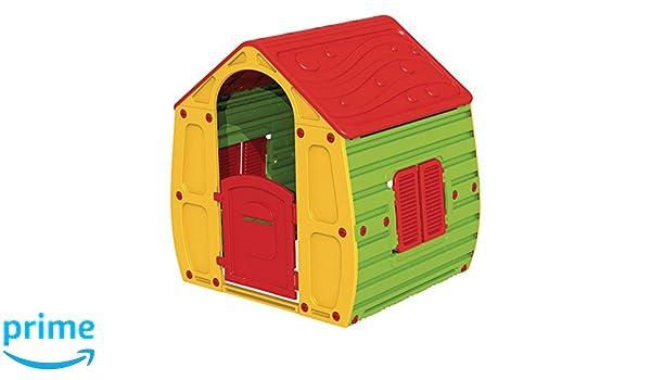 KitGarden - Caseta Infantil Juegos Jardin, 102x90x109 cm, Multicolor, Magical House: Amazon.es: Juguetes y juegos
