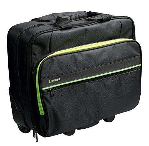 König CSNBBT100GR Business-Trolley für Notebook SDzKXNMc
