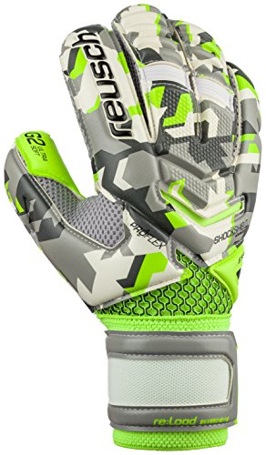 Reusch Soccer Reusch Re Load Deluxe G2 Goalkeeper Gloves, Camo, Size 10 by Reusch Soccer