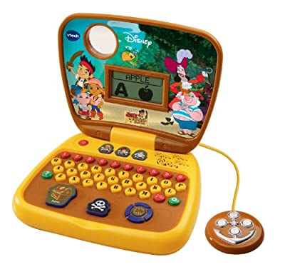 Vtech Jake And The Never Land Pirates Treasure Hunt Learning Laptop from V Tech