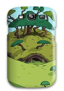 Ideal Leslie White Case Cover For Galaxy S3(adventure Time), Protective Stylish Case