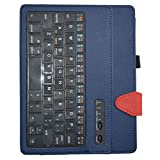 """Acer Iconia One 10 B3-A20 Bluetooth Keyboard Case,Mama Mouth Coustom Design Slim Stand PU Leather Case Cover With Romovable Bluetooth Keyboard For 10.1"""" Acer Iconia One 10 B3-A20 Android Tablet,Blue"""