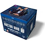 Doctor Who: The Complete Box Set - Series 1-7 [Blu-ray] (Non USA format, region 2 UK import, requires a multi region or region 2 player or PC to view)