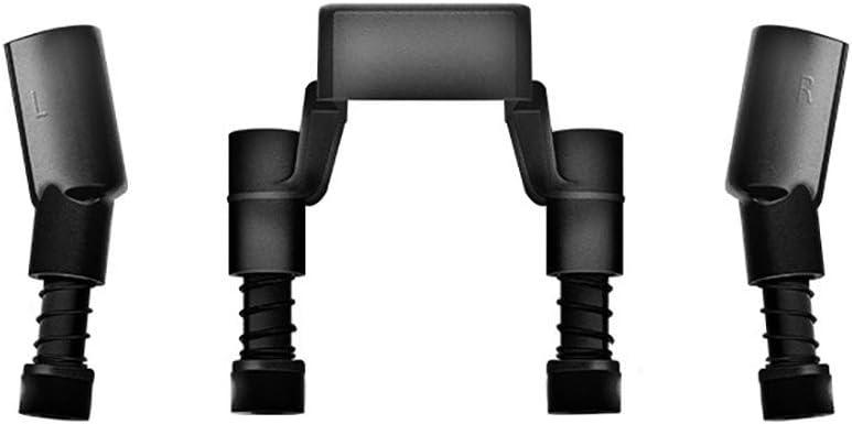 CHshe®-★-Kit de protección, protección de cámara, Dji Mavic Pro Accesorios para aviones no tripulados Aterrizaje patentado Mejora, 2X Mavic Pro Patas del tren de aterrizaje + Soporte