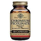 Solgar – Chromium Picolinate 500 mcg, 60 Vegetable Capsules For Sale