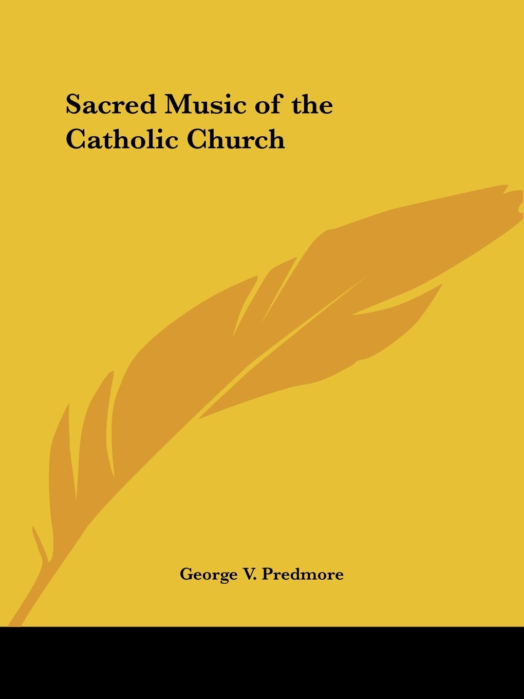 Sacred Music of the Catholic Church