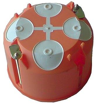 15-er Pack orange Blass Elektro Hohlwanddose 60 mm Winddicht mit Membranen 22653b