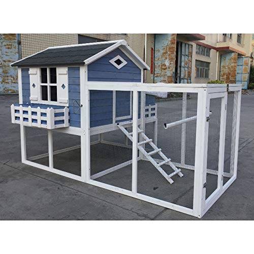 Flyline Garden Window Chicken Coop Chook Pen Cage House...