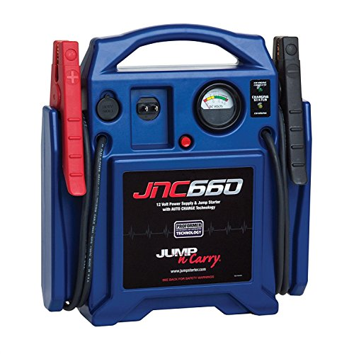 Clore Automotive Jump-N-Carry JNC660 1700 Peak Amp 12 Volt Jump Starter ()
