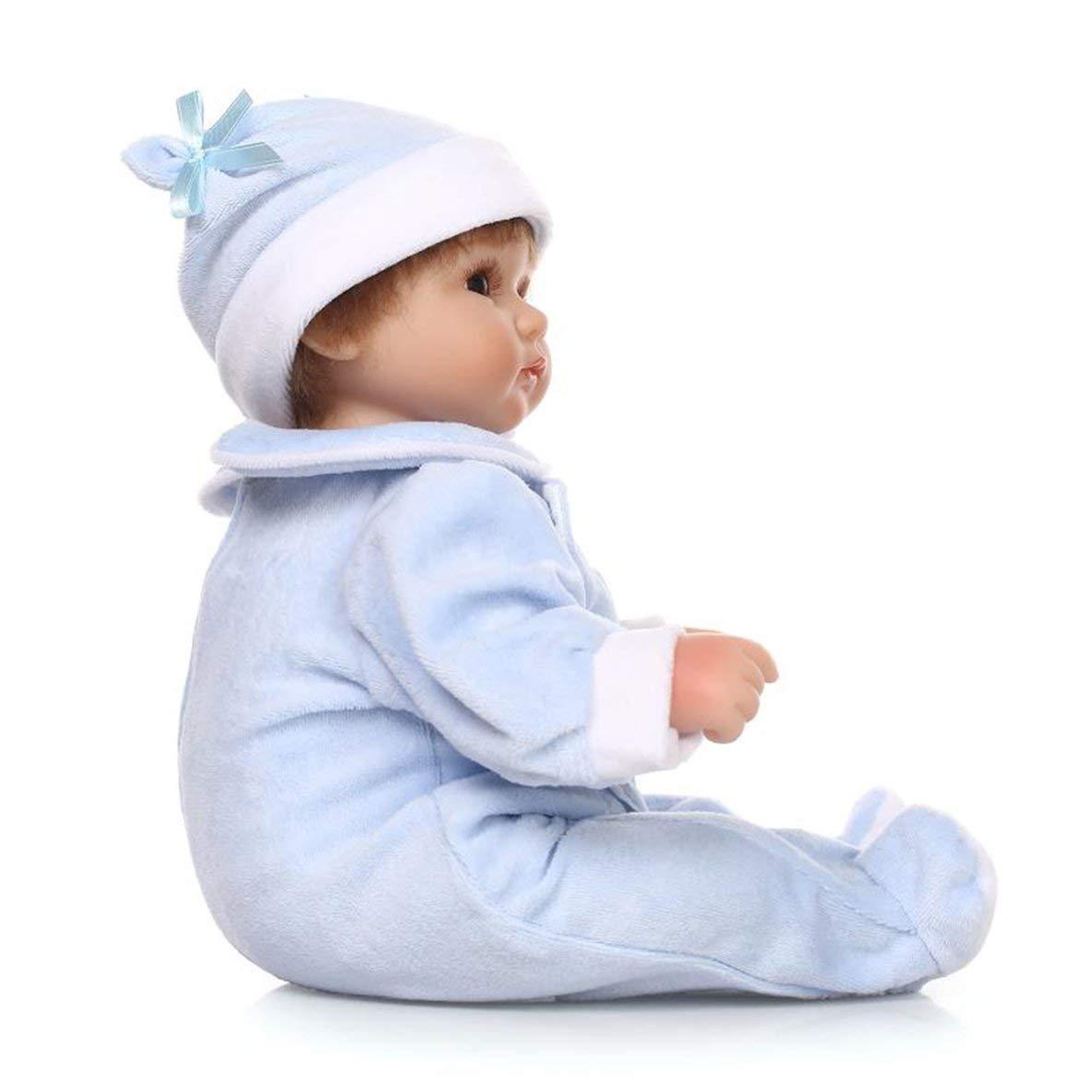 tomar hasta un 70% de descuento Moliies Simulación Baby Doll Suave Silicona Silicona Silicona Linda Muñeca Realista Crianza de los niños Juguete  suministramos lo mejor