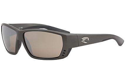 01c142f34de Costa Del Mar Costa Del Mar TA188OSCGLP Tuna Alley Copper Silver Mirror  580G Steel Gray Metallic