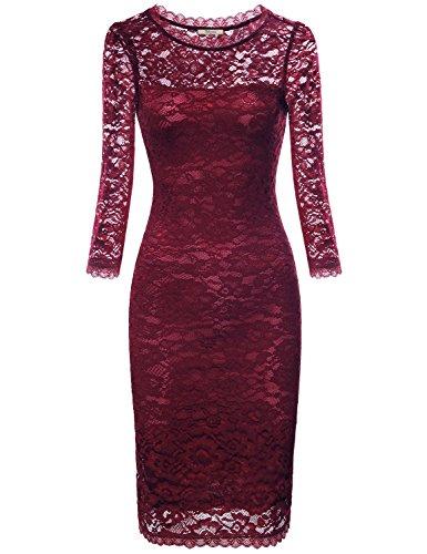 Buy below the knee wedding dress - 4