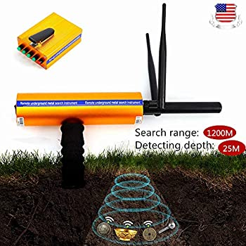BSTOOL Metal Gold Detector Handhold AKS Scanner Finder Silver Copper Advanced Probe Receiver Launcher 3D Professional Long Range Diamond Finder Detective ...