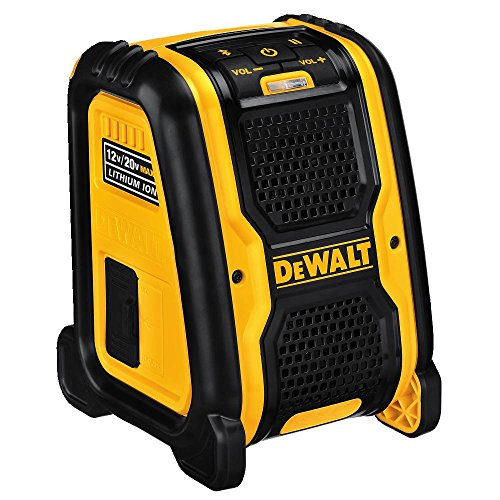 DEWALT DCR006 Jobsite Bluetooth Speaker (Dewalt Radio Battery And Charger)