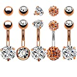 Body Piercing Jewelry Belly Button Rings - Best Reviews Guide