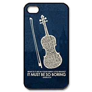 fenglinlinSHERLOCK--Hot TV Shows Super Awesome Phone case Durable PC Case Cover For ipod touch 5