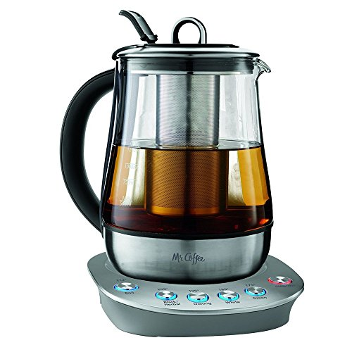 Mr Coffee Hot Tea Maker and Kettle, Stainless Steel