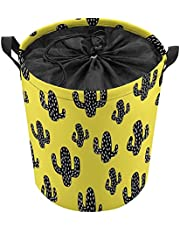 Clothes and Toys Organizer Waterproof Hamper Foldable Laundry Basket for Storage,with soft handles,Butterfly Dragonfly
