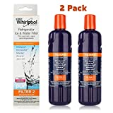 whirlpool filters - Refrigerator Water Filter EDR2RXD1, W10413645A Water Filter Replacement For Whirlpool Filter 2(2 Pack)