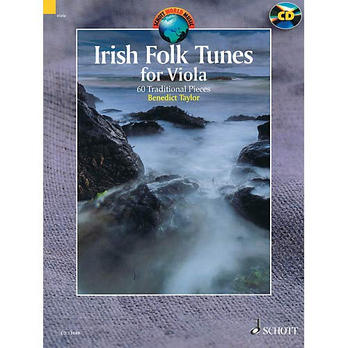 Folk Viola - Irish Folk Tunes for Viola (60 Traditional Pieces) String Series Softcover with CD by Benedict Taylor Pack of 2