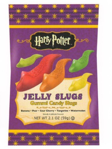 Jelly Belly Harry Potter Jelly Slugs Gummi Candy Slugs - 12ct Box (Jelly Belly Harry Potter)