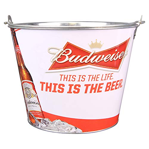 (Beer Brand Full Color Aluminum Beer Bucket(Budweiser