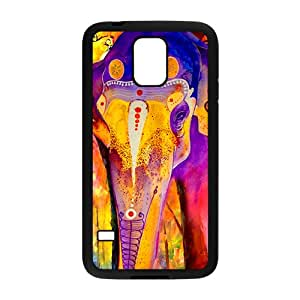 Hope-Store Colorful elephant Cell Phone Case for Samsung Galaxy S5