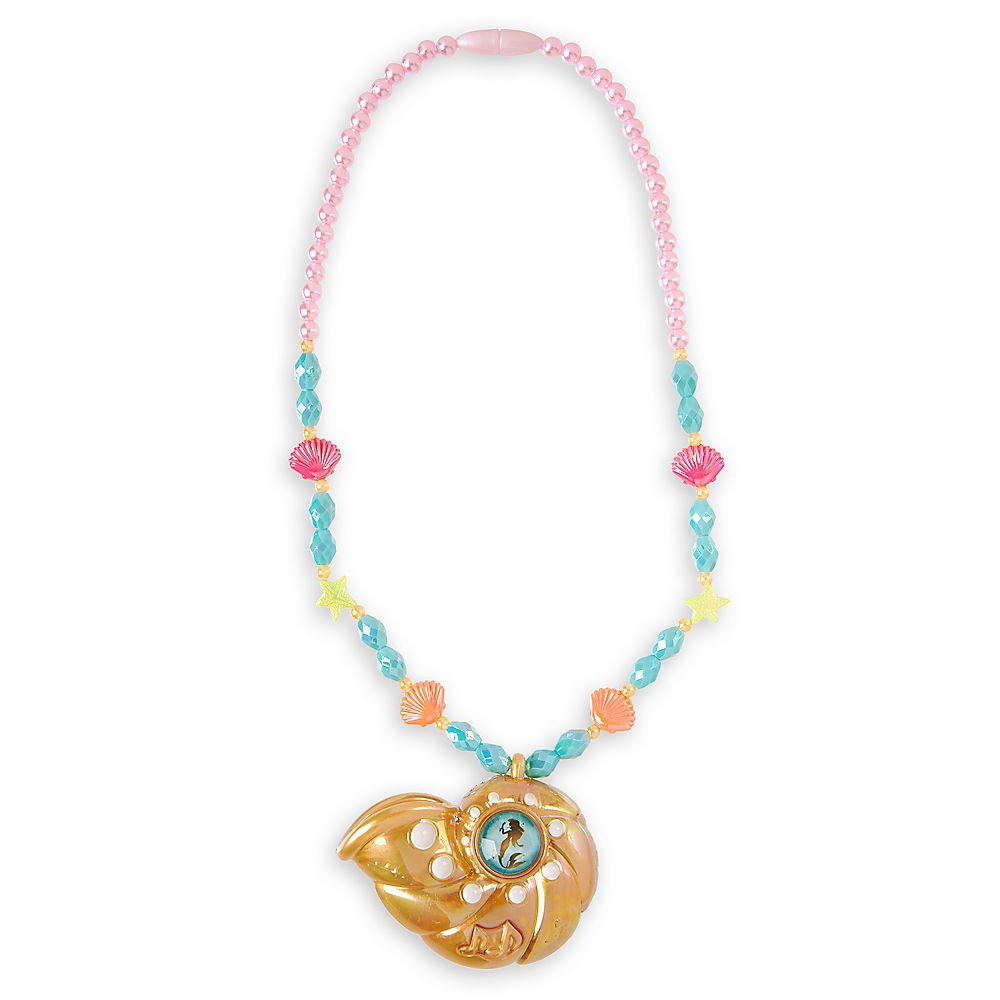 Disney Ariel Voice Recording Necklace for Kids by Disney