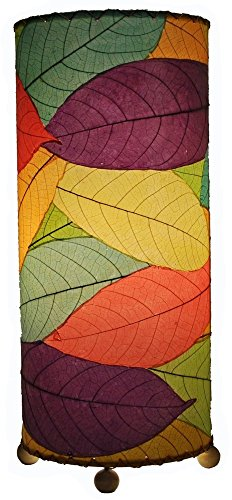 mporary Cocoa Leaf Indoor Table Lamp, Multicolor (Cocoa Table Lamp)