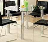 Dining Table w/ Glass Top by Furniture of America Review