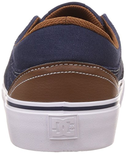 Trase Dc S Dc Shoes Navy Shoes Zapatillas Bleu Dk Chocolate ntdaa6T