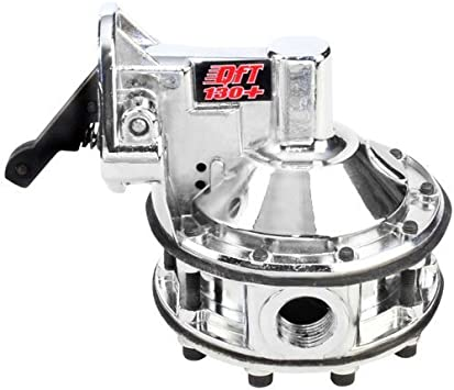 "SBC Chevy 350 High Volume 130GPH 1//2"" NPT 12-16 PSI Mechanical 6-Valve Fuel Pump"