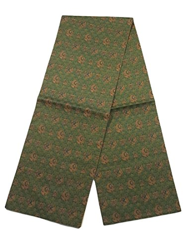 司法生まれデコラティブリサイクル 京袋帯 遠州緞子模様 正絹
