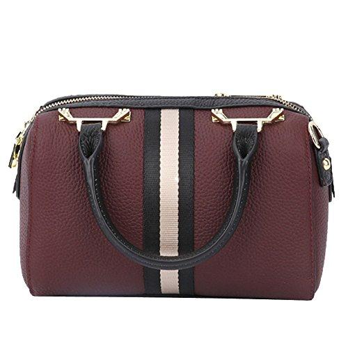 Women's Bag Chic Leather Quality Bags Tote Handbags Fashion Ladies Designer Purple rzqtw1r