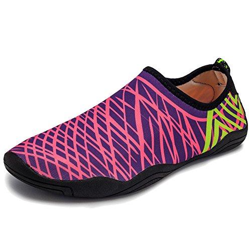 Antidérapant De Femmes Sports Plage D'eau Bozevon Chaussures Unisexe 13 Et A Style Hommes Casual Plongée w4fWITqz
