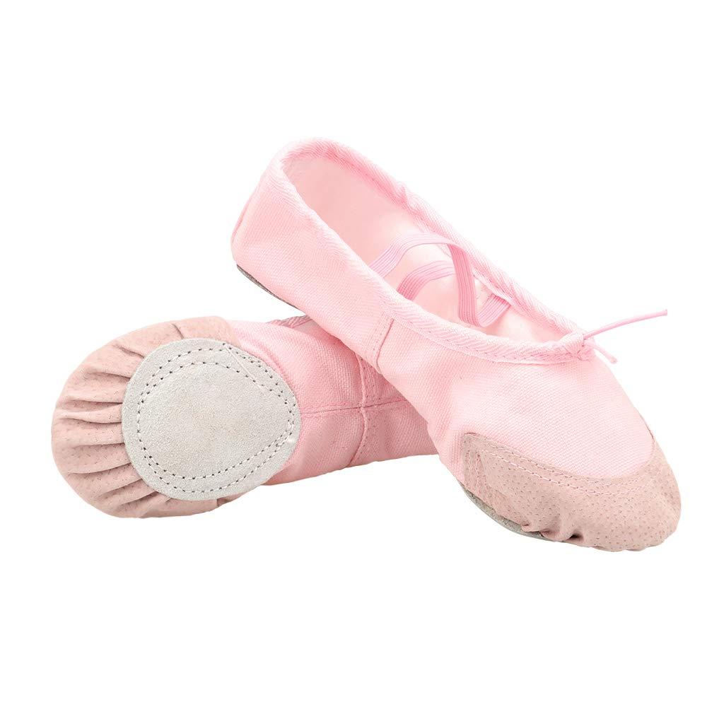 Miunana Scarpe da Ballerine Balletto Danza per Ragazze Donne Bambine