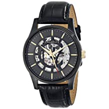 Bulova Caravelle New York  Men's 45A120 Analog Display Chinese Automatic Black Watch