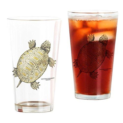 CafePress Northern Diamondback Turtle Pint Glass, 16 oz. Drinking Glass