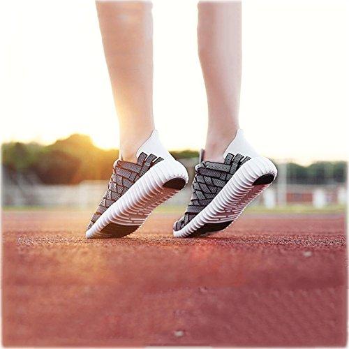 Paar Farbe YaXuan EIN handgewebte Sport 39 Laufende Neue Freien Mode Turnschuhe Breathable Sommer Freizeitschuhe Wanderschuhe im Schuhe Größe Koreanische Damen Herrenschuhe C PTCwqP